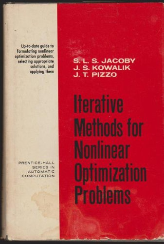 Iterative Methods for Nonlinear Optimization Problems (Prentice-Hall series in automatic computation)