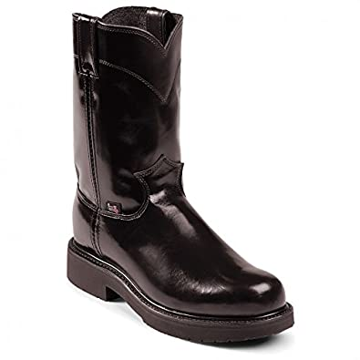 Amazon.com: Justin Men's Jow Uniform Pull-On Work Boot: Shoes