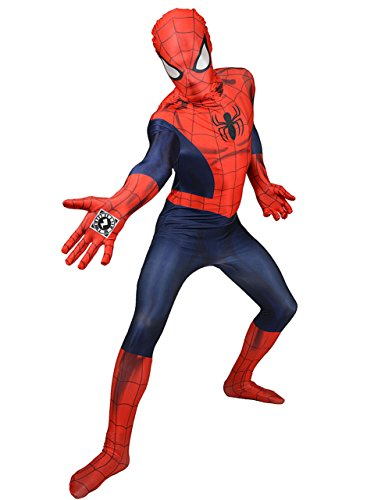 Spiderman Zappar Adult Costume Morphsuit