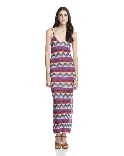 Woodleigh Women's Kiera Striped Dress  [Blue Multi Stripe]