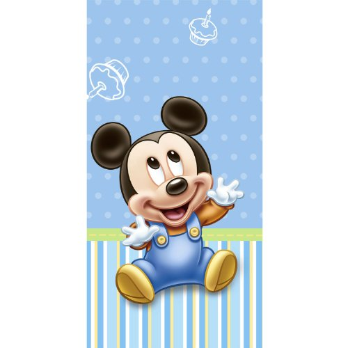 Hallmark Mickey's 1st Birthday Table Cover