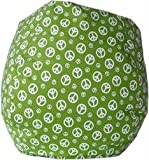 Bean Bag Peace Lime