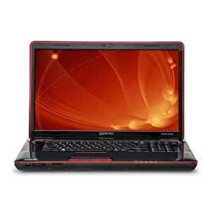 Toshiba Qosmio X505-Q885 TruBrite 18.4-Inch Laptop (Black/Red)