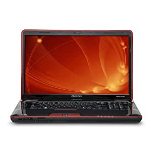 Toshiba Qosmio X505-Q888 TruBrite 18.4-Inch Laptop (Black/Red)
