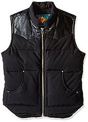 Moose Knuckles Men's Summit Vest, Black, Medium