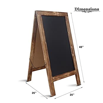 Chalkboard Sign / Large 40