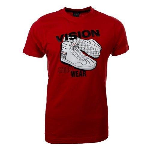 Vision Street Wear Sneaker T-Shirt , rot