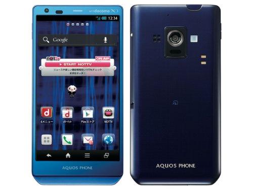 AQUOS PHONE ZETA SH-02E docomo [Blue]
