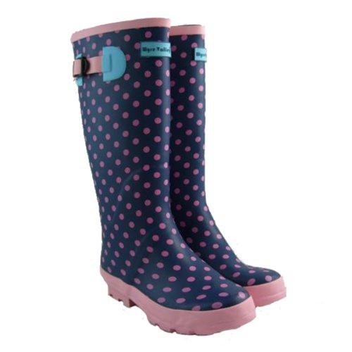 Ladies Wellington Boots Printed Wellies Womens