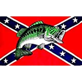 CONFEDERATE FLAG REBEL FISH ~ Sportsworld