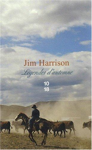 Légendes d'automne de Jim Harrison édition limitée