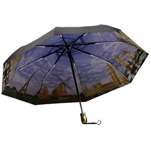 ombrello-automatico-vinile-pittura-a-olio-xagoor-ombrello-pieghevole-artistica-fibra-di-vetro-rinfor
