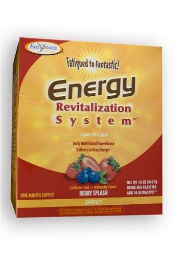 Fatigued to Fantastic! Energy Revitalization System - Berry Splash Flavor (30 Day Supply) 21.6 0z (612G)