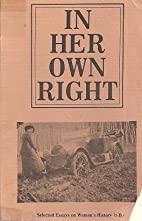 In Her Own Right: Selected Essays on…