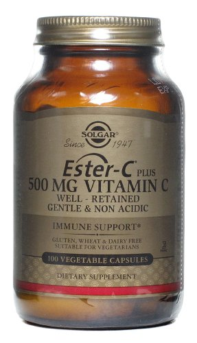 Solgar Ester-C Plus Vitamin C 500Mg - 100 Vegetarian Capsules