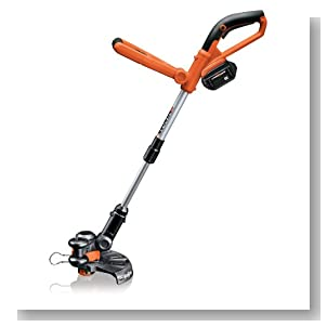 WORX WG165 10-Inch 24-Volt LithiumPower Cordless Grass/String Trimmer and Edger