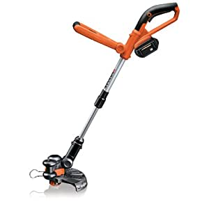 Worx WG165 10-Inch 24-Volt Lithium Ion Cordless Electric String Trimmer/Edger with 1 Battery