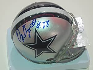 DEZ Bryant Signed Autograph Dallas Cowboys Mini Helmet Authentic Certified Coa by all-star sports