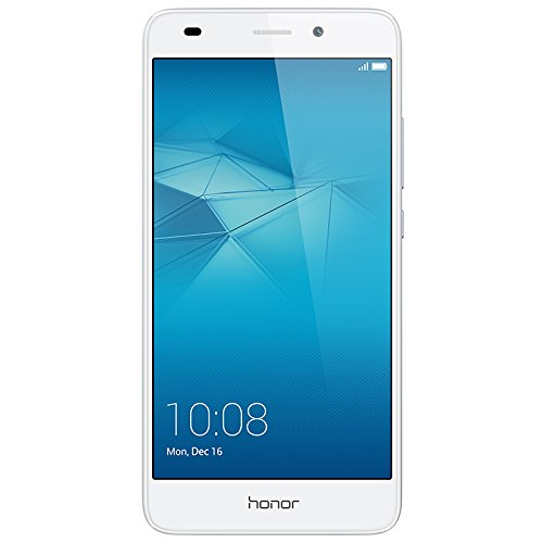Honor 5C Smartphone (13,2 cm (5,2 Zoll) Touch-Display, 1920 x 1080 pixels, 13 Megapixel, 16 GB interner Speicher, Android M EMUI 4.1) silber