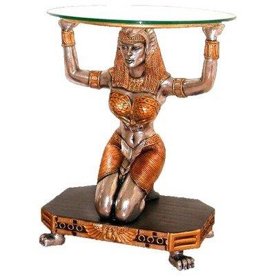 Cheap Egyptian Goddess Ma'at Console Table (NE867002)