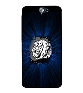 EPICCASE Roaring Lion Mobile Back Case Cover For HTC One A9 (Designer Case)