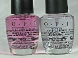 OPI Natural Nail Base Coat & Top Coat COMBO FULL SIZE .5
