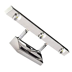 3W Modern Led Wall Light Mirror Style Adjustable Light Direction Angle