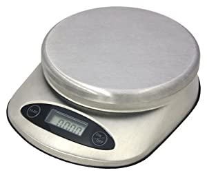 11 lb. Siena Stainless Steel Professional Food Scale by ZUCCOR by ZUCCOR