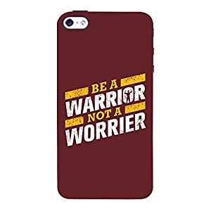 ColourCrust Apple iPhone 4S Mobile Phone Back Cover With Motivational Quote - Durable Matte Finish Hard Plastic Slim Case