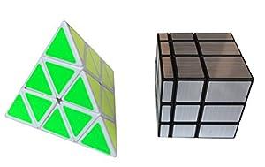 Pyraminx Megaminx Mirror Speed Magic Puzzle Cube Set of 3