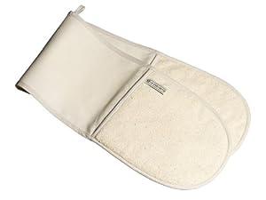 Le Creuset Textiles Double Oven Glove - Cream