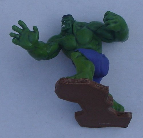 "The Incredible Hulk PVC Figure 4"" Wide By 3"" Tall"