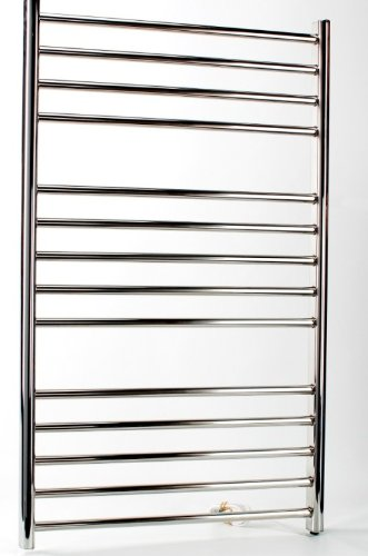 Siena Electric Heated Towel Rail H1000mm W600mm