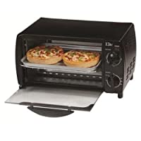 Maximatic EKA-9210XB 4-Slice Toaster Oven Broiler Black