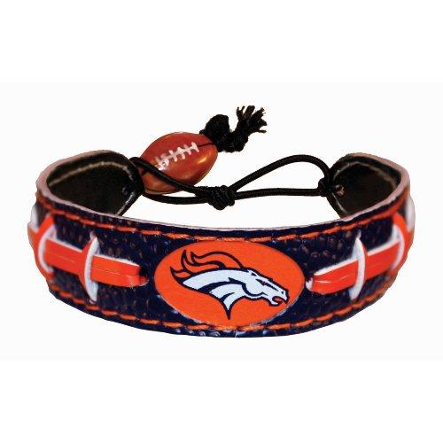 Denver Broncos Team Color NFL Football Bracelet