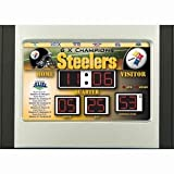 Pittsburgh Steelers Scoreboard Desk & Alarm Clock Amazon.com