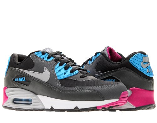 Nike Mens Air Max 90 Essential Running Shoes Black