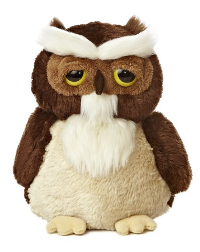 Aurora World Dreamy Eyes Smitty Owl Plush, 9""