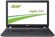 Acer Aspire es 15(ES1-571-38lu) 39,6cm (15,6portátil Full HD) (Intel 4GB de RAM, Intel HD Graphics 5500, DVD, Win 10Home) Negro