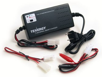 Tenergy Universal Smart Charger for RC/ Airsoft Battery/ NiMH/NiCd Battery Packs (6V – 12V)
