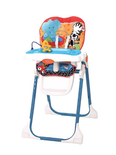 Fisher-Price Adorable Animals Healthy Care High Chair