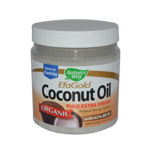 Natures Way - Natures Way Efagold Coconut Oil - 16 Fl Oz