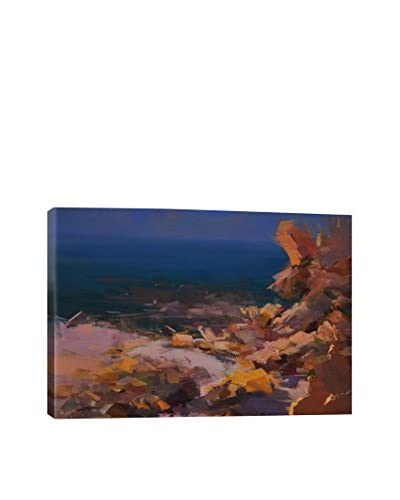 Yuri Pysar Rocks By The Shore Gallery-Wrapped Canvas Print