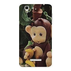 Impressive Toy Monkey Multicolor Back Case Cover for YU Yureka Plus