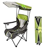 Premium Canopy Chair Lime Grn