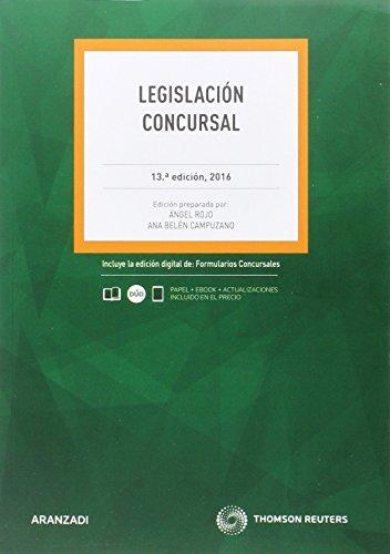 Legislación concursal (13º ed. 2016) (Código Profesional)
