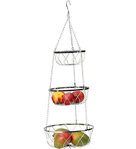 Rsvp Hanging 3-Tier Fancy Baskets front-450227