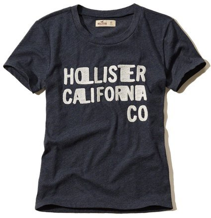 hollister-t-shirt-femme-multicolore-bigarre-multicolore-small