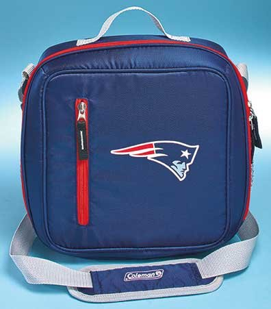 NFL Coleman 12-Can Messenger Coolers Patriots (Patriots Coleman Cooler compare prices)