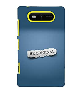 printtech Cool Quotes Back Case Cover for Nokia Lumia 820::Microsoft Lumia 820